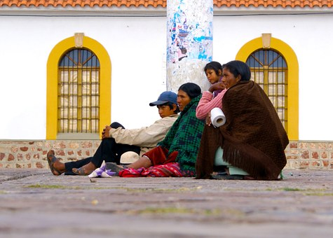 Sucre, Spanish, Bolivia, People, Waiting For You