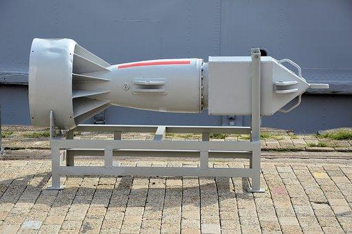 Bomb, Submarine, History, Military, War, Missile
