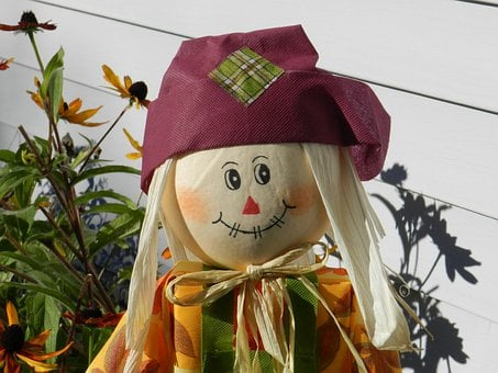 Scarecrow, Autumn, Decoration, Doll, Fall, Seasonal