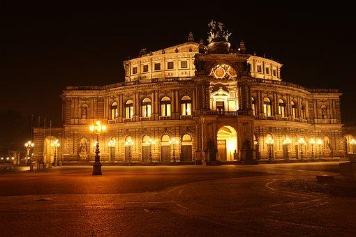 Semper Opera House, Dresden, Opera, Opera House
