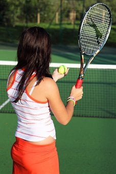 Action, Active, Ball, Court, Exercise, Female, Fitness