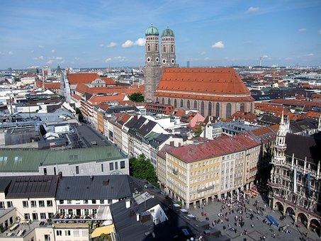 Munich, Frauenkirche, Marienplatz, State Capital