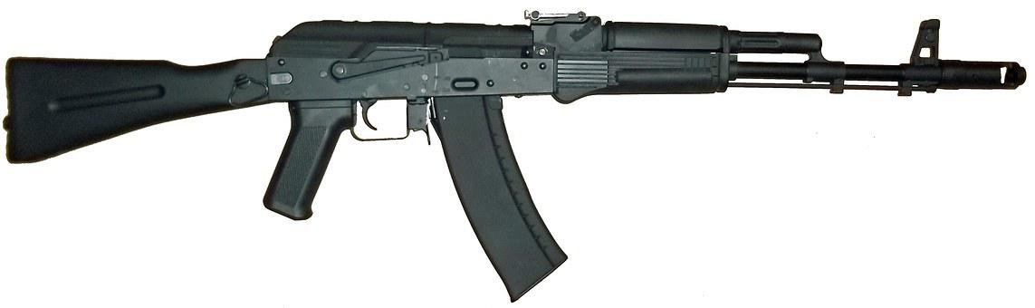 Ak-47, Kalashnikov, Rifle, Gun, Weapon, Russian