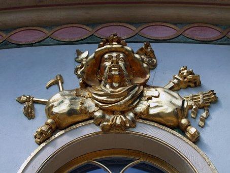 Ornament, Chinese, Home, Tea House, Park Sanssouci
