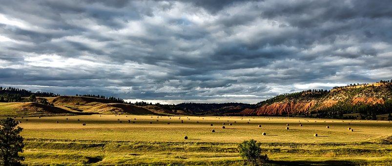 Belle Fourche River Valley, Colorado, Landscape