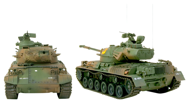 Tank, Japanese Tank 1961, Armor, Cannon, Machine Gun