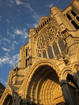 Chartres Cathedral, North Facade, Medieval, Cathedral