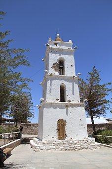Church, San Pedro De Atacama, North, Northern Chile