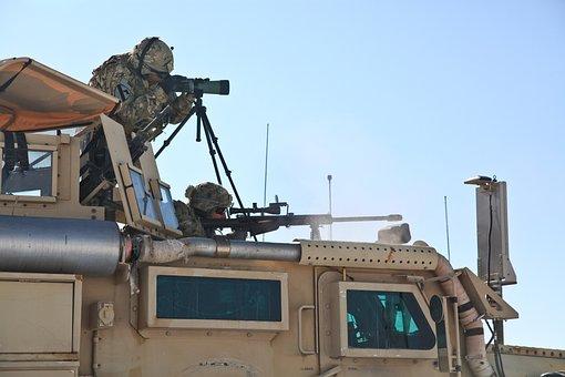 Army, Patrol, Afghanistan, Military Vehicle, Military