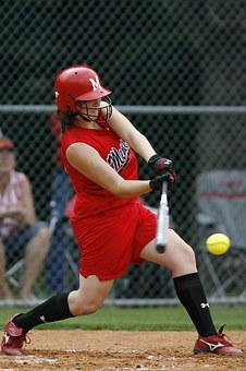 Softball, Player, Game, Competition, Bat, Play, Athlete
