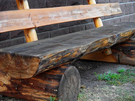 Bank, Wooden Bench, Bench, Rest, Nature, Seat, Click