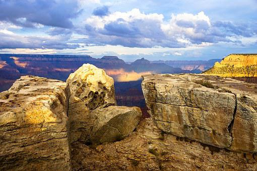 Canyon, Sky, Nature, Landscape, Travel, Mountain, Rock