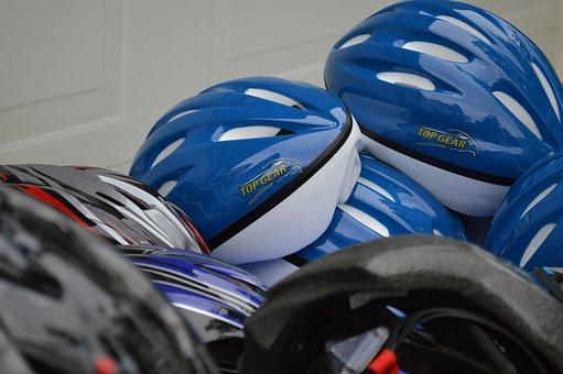 Helmets, Sport, Bicycle, Biking, Active, Safety