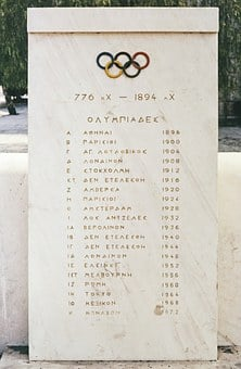 Olympia, Greece, Olympic, Games, Sport, Pictogram
