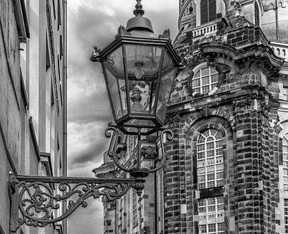 Lantern, Lighting, Street Lamp, Schmiedeeisern