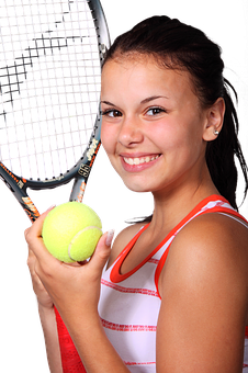 Tennis, Fitness, Sport, Woman, Girl, Sporty, Female