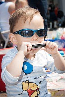 Nursery, Toddler, Child, Uk, Ukkie, Harmonica