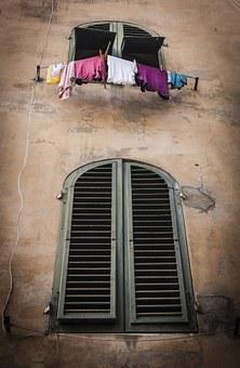 Italy, Window, Europe, House, Old, Travel, Architecture