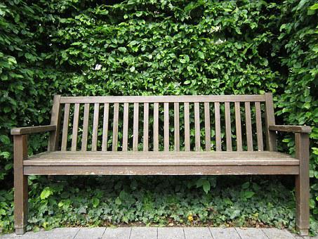 Bank, Wooden Bench, Nature, Bench, Seat, Wood, Click