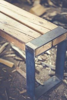 Bank, Wooden Bench, Sit, Nature, Bench, Seat, Out, Wood