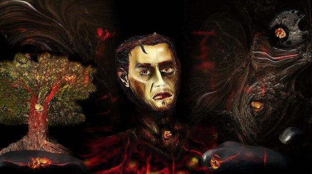 Self Portrait, Destiny, Battle, War, Death, Wounds