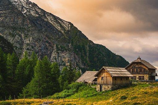Carinthia, Austria, Landscape, Alpine, Mountains