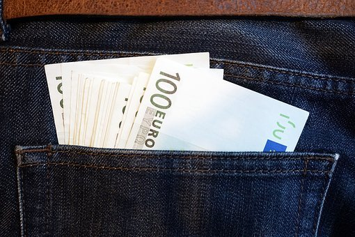 Euro, Money, Euro Banknotes, Finance, Currency, Pants