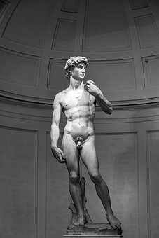 David, Michelangelo, Florence, Italy, Statue, Museum