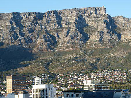 South Africa, Cape Town, Table Mountain, Mountain