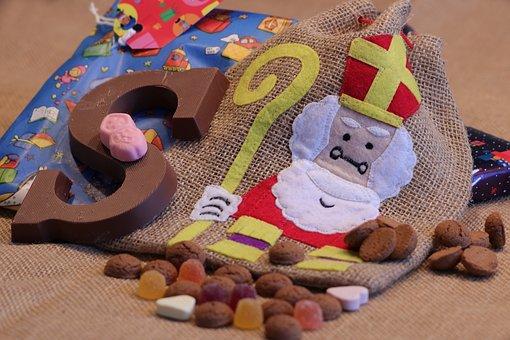 Saint Nicholas, Saint, Sint Nicolaas, Candy, Chocolate