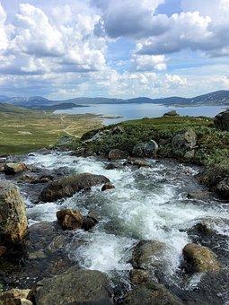 Norway, Scandinavia, Water, Nature, Landscape, Sky