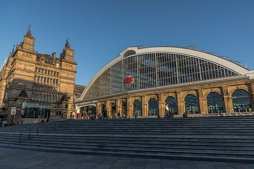 Liverpool, Lime Street, Railway, Station, Train, Travel