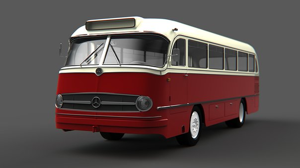 Mercedes Benz, Bus, Buses, Modeling, Traffic, Vehicle