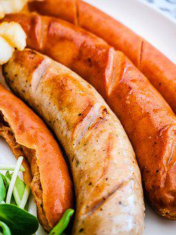 Sausage, Food, Grill, Meat, Delicious, Eat, Pizza, Bbq