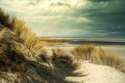 Beach, Sky, Sea, Sunrise, Ocean, Landscape, Water