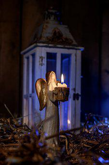 Lantern, Light, Candle, Night, Mood, Dark, Straw, Stall