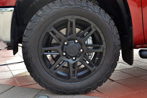 Toyota Tundra, Tire, Wheel, Truck, Pick-up, Tough