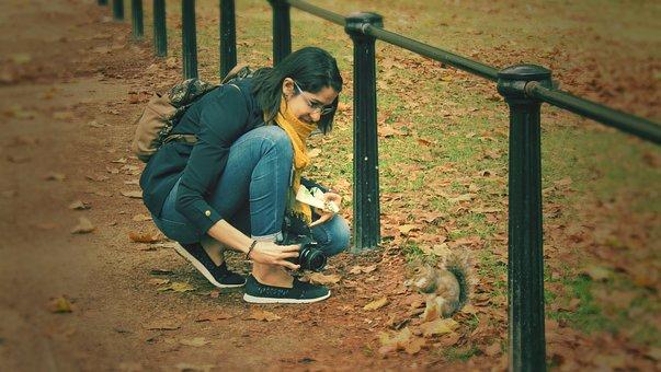 Photographer, Camera, Portrait, Lens, Photo