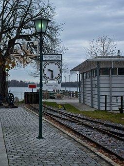 Departure, Train, Stop, Railway, Rail Traffic