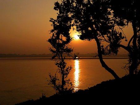 Sunset, Ocean, Nature, Landscape, Sea, Water, Sky