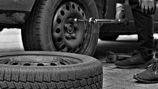 Winter Tires, Tire Service, Mature, Auto, Automotive