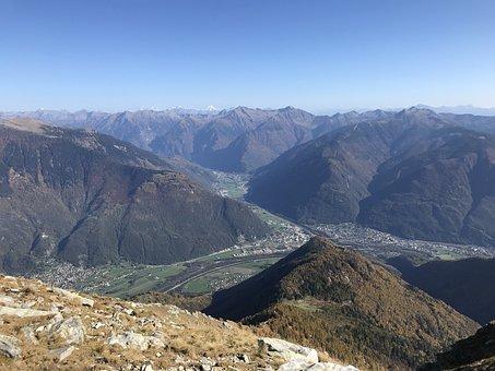 View From Gaggio, Alpine Route, Alps, Alpine, Adventure