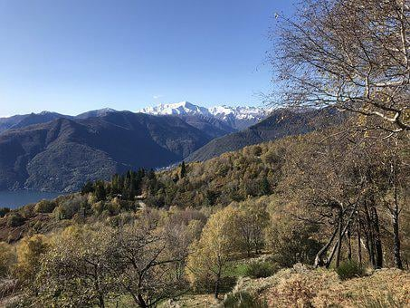 View From Mount Cadrigna, Alpine Route, Alps, Alpine