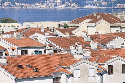 Montenegro, Sea, At Home, Roof, Window, Boat, Water