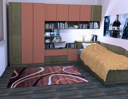 Room, Read, Children, Furnishings, Child