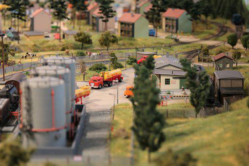 Miniature, Toys, Railway, Miniature Figures, Christmas