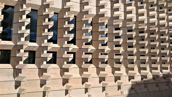 Building, Architecture, Malta, City, Urban, Modern