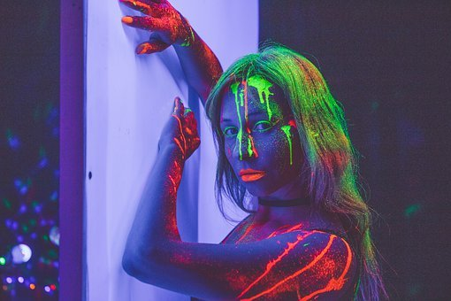 Neon, Neon Light, Artistically, Shadow, Lamp, Lighting