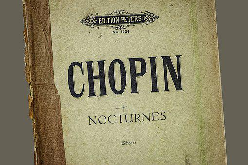 Shopin, Nocturnes, Collectable, Intellectual, Notepad