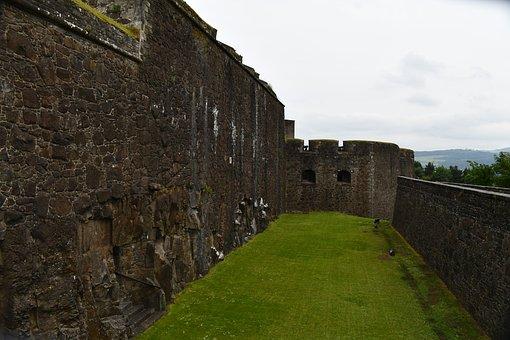 Mote Area, Sterling Castle, Scotland